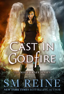 Book Cover: Cast in Godfire