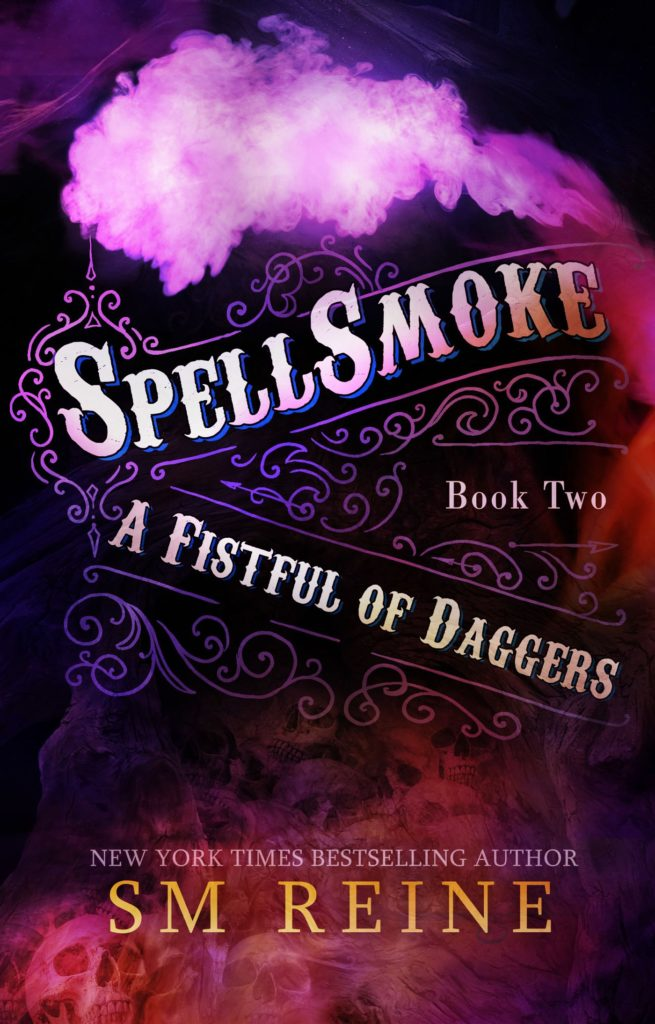 Book Cover: Spellsmoke