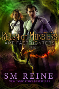 Book Cover: Reign of Monsters