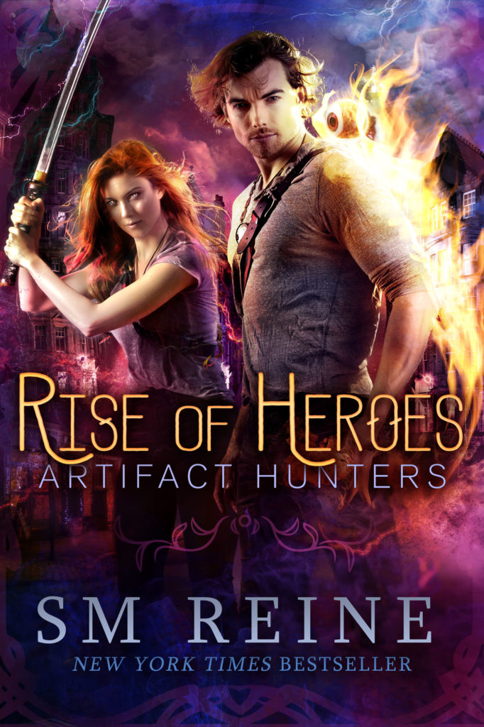 Book Cover: Rise of Heroes