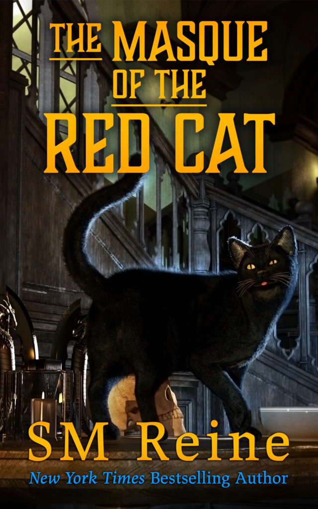 Book Cover: Masque of the Red Cat