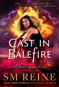 Book Cover: Cast in Balefire